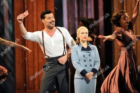 Stock Photo of Ricky Martin and Elena Roger perform at the 66th Annual Tony Awards, in New York