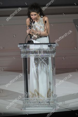 Accessories Pamela Love on stage at the 2013 CFDA Fashion Awards at Alice Tully Hall on in New York