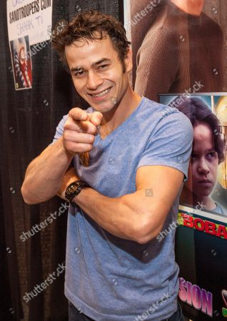 This photo shows actor Daniel Logan, at the Chicago Comic & Entertainment Expo at McCormick Place in Chicago