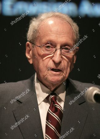 Stock Picture of Museum of the Moving Image Board President Herbert S. Schlosser appears onstage at the 2013 Envision Awards presented by the Museum of the Moving Image, on in New York
