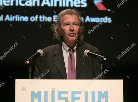 Unique Pictures co-CEO Bob Shaye appears onstage at the 2013 Envision Awards presented by the Museum of the Moving Image, on in New York