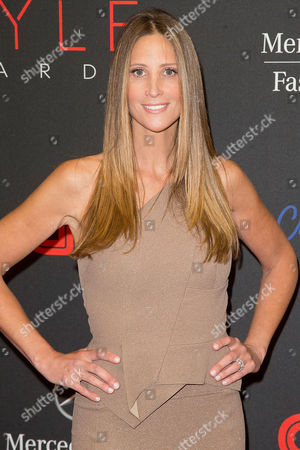 Stock Picture of Stephanie Winston Wolkoff arrives at the 2013 Style Awards at Lincoln Center on in New York