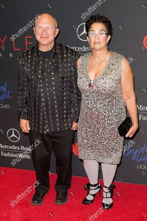 Stephen Posen and Susan Posen arrives at the 2013 Style Awards at Lincoln Center on in New York