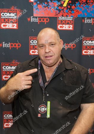 Actor Louis Lombardi at the Chicago Comic & Entertainment Expo at McCormick Place, in Chicago