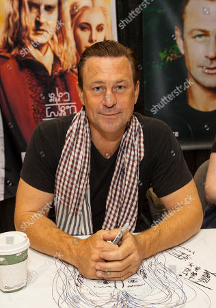 Actor Grant Bowler at the Chicago Comic & Entertainment Expo at McCormick Place, in Chicago