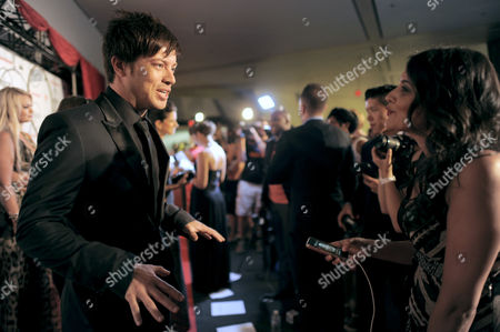 J.D. Scott attends the Producers Ball at the Royal Ontario Museum, in Toronto