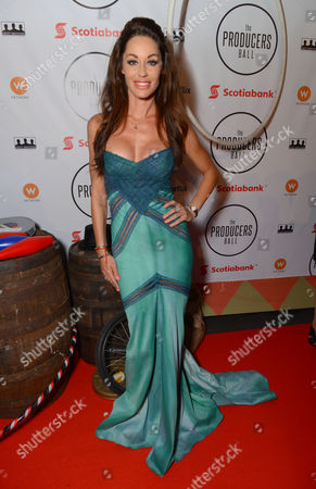 Stock Photo of Melanie Marden attends the Producers Ball at the Royal Ontario Museum, in Toronto