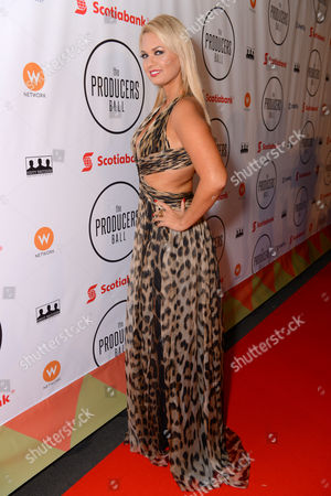 Angeline-Rose Troy attends the Producers Ball at the Royal Ontario Museum, in Toronto