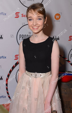 Julia Sarah Stone attends the Producers Ball at the Royal Ontario Museum, in Toronto