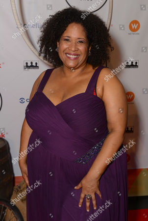 Stock Picture of Kim Roberts attends the Producers Ball at the Royal Ontario Museum, in Toronto