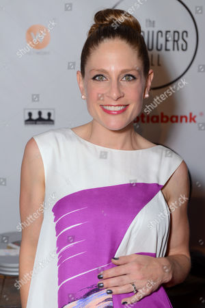 Tara Spencer-Nairn attends the Producers Ball at the Royal Ontario Museum, in Toronto