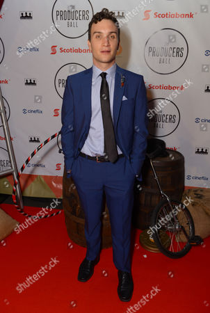 Ari Millen attends the Producers Ball at the Royal Ontario Museum, in Toronto