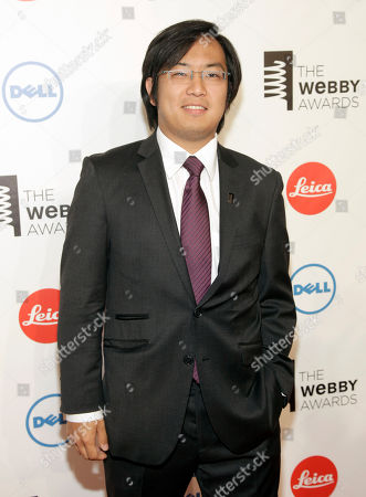 Internet video producer Freddie Wong attends the 2014 Webby Awards, in New York