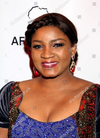 Nigerian actress Omotola Jalade Ekeinde seen at 2015 AMAA Nominations Dinner at H.O.M.E., in Beverly Hills, Calif