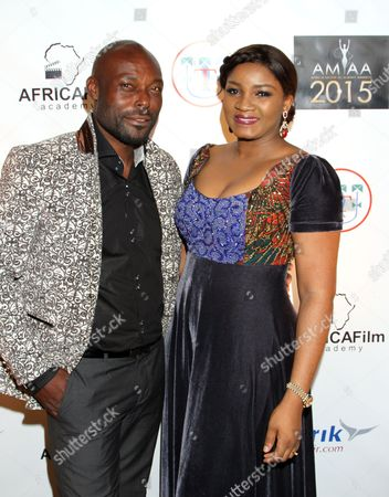 Editorial image of 2015 AMAA Nominations - Arrivals