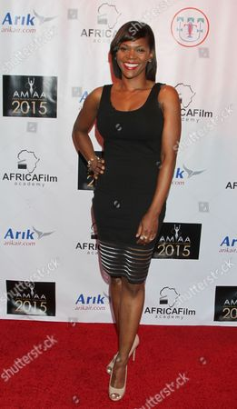 Editorial picture of 2015 AMAA Nominations - Arrivals