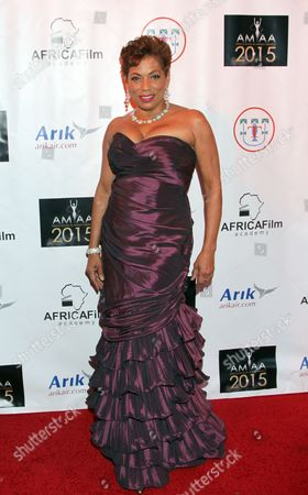 Rolonda Watts seen at 2015 AMAA Nominations Dinner at H.O.M.E., in Beverly Hills, Calif