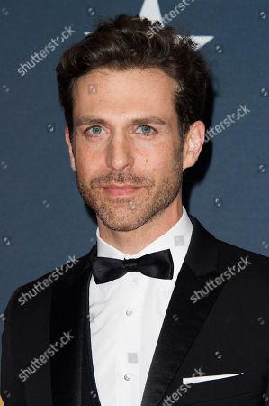 Stock Photo of David Julian Hirsh arrives at the Canadian Screen Awards, in Toronto, Canada