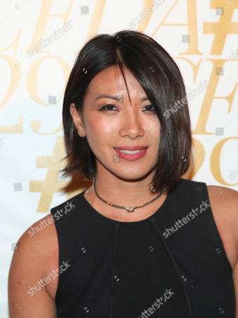 May Kwok attends 2015 CFDA Fashion Awards After Party co-hosted by Refinery29 at The Boom Boom Room in The Standard Hotel, in New York