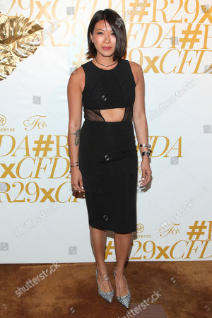 Stock Picture of May Kwok attends 2015 CFDA Fashion Awards After Party co-hosted by Refinery29 at The Boom Boom Room in The Standard Hotel, in New York
