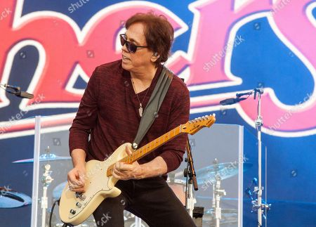John McFee of The Doobie Brothers seen at the Le Festival d'ete de Quebec on in Quebec City, Canada