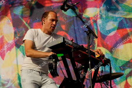 Dan Snaith of Caribou seen at the 2015 Pitchfork Music Festival, on in Chicago