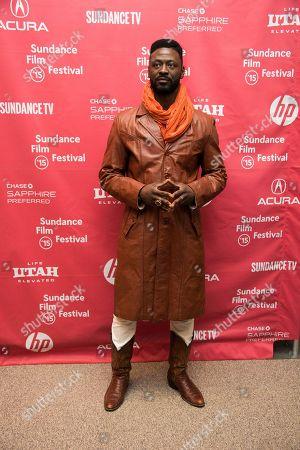 "Actor Tishuan Scott attends the ""Results"" premiere during the 2015 Sundance Film Festival, in Park City, Utah"