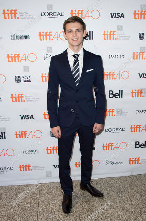 """Robbie Kay attends a premiere for """"Heroes Reborn"""" on day 6 of the Toronto International Film Festival at The Winter Garden Theatre, in Toronto"""