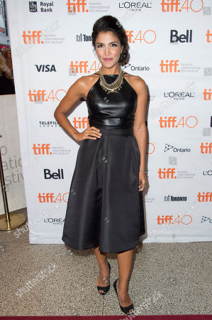 """Nazneen Contractor attends a premiere for """"Heroes Reborn"""" on day 6 of the Toronto International Film Festival at The Winter Garden Theatre, in Toronto"""