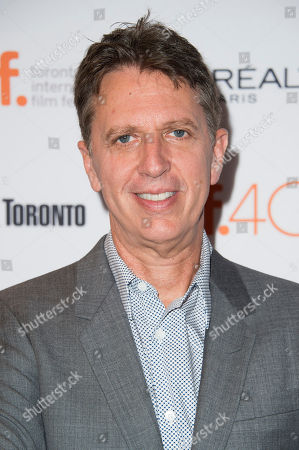 """Tim Kring attends a premiere for """"Heroes Reborn"""" on day 6 of the Toronto International Film Festival at The Winter Garden Theatre, in Toronto"""