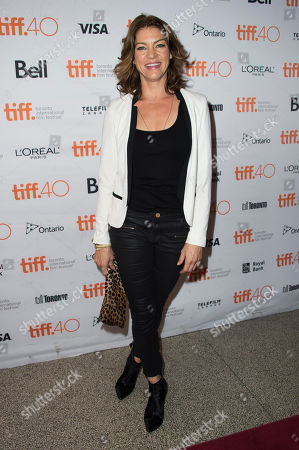 "Rya Kihlstedt attends a premiere for ""Heroes Reborn"" on day 6 of the Toronto International Film Festival at The Winter Garden Theatre, in Toronto"