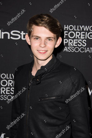 Robbie Kay attends The Hollywood Foreign Press Association (HFPA) and InStyle's annual Toronto International Film Festival celebration at The Windsor Arms Hotel, in Toronto