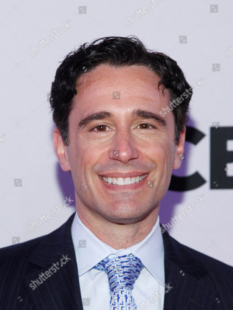 Christopher Gattelli attends the 2015 Tony Awards Meet The Nominees Press Junket at The Paramount Hotel, in New York