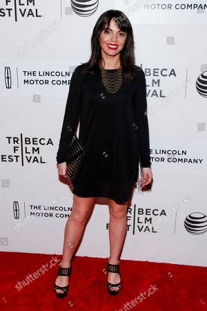 """Stock Photo of Adriana DeMeo attends the Tribeca Film Festival world premiere of """"The Wannabe"""", in New York"""
