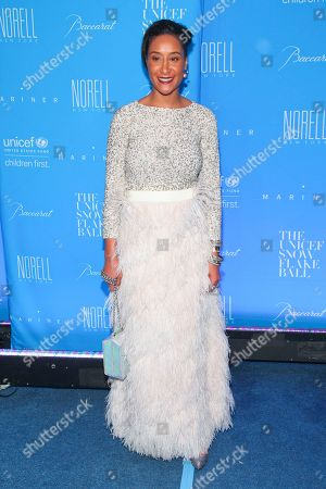 Kimberly Chandler attends the U.S. Fund for UNICEF Snowflake Ball benefit at Cipriani Wall Street, in New York