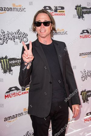 Benjamin Kowalewicz arrives at the 2016 Journeys AP Music Awards at Value City Arena at the Jerome Schottenstein Center, in Columbus, Ohio