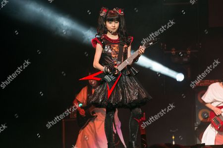 Yui Mizuno of BABYMETAL perform at the 2016 Journeys AP Music Awards at Value City Arena at the Jerome Schottenstein Center, in Columbus, Ohio