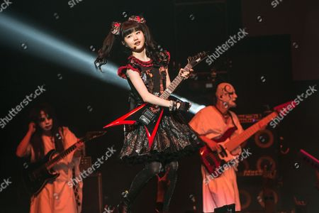 Yui Mizuno of BABYMETAL performs at the 2016 Journeys AP Music Awards at Value City Arena at the Jerome Schottenstein Center, in Columbus, Ohio