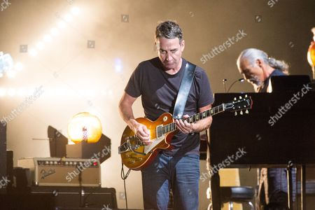 Stock Picture of Stone Gossard of Pearl Jam performs at Bonnaroo Music and Arts Festival, in Manchester, Tenn