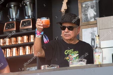 Richard Cheech Marin attends a cooking demonstration at BottleRock Napa Valley Music Festival at Napa Valley Expo, in Napa, Calif