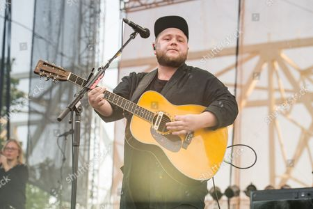 Ragnar Thorhallsson of Of Monsters and Men performs at Bunbury Music Festival at Sawyer Point Park & Yeatman's Cove, in Cincinnati