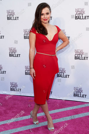 Sasha Cohen attends the 2016 New York City Ballet Fall Gala at The David H. Koch Theater on Tuesday, Sept. 20, in New York