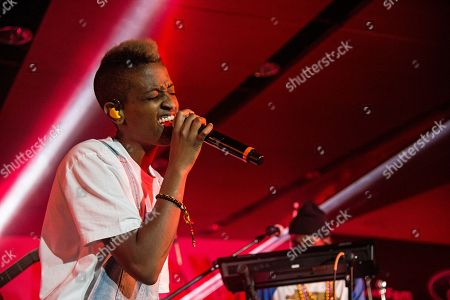 Syd tha Kyd (aka Sydney Bennett) of The Internet seen at 2016 Essence Festival at the Mercedes-Benz Superdome, in New Orleans