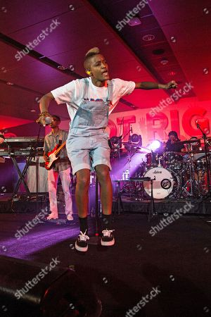 Stock Photo of Syd tha Kyd (aka Sydney Bennett) of The Internet seen at 2016 Essence Festival at the Mercedes-Benz Superdome, in New Orleans