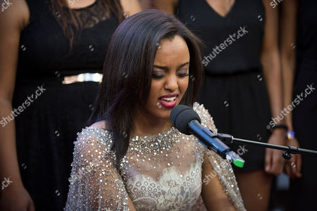 Ruth B performs at the 2016 iHeartRadio MuchMusic Video Awards, in Toronto, Canada