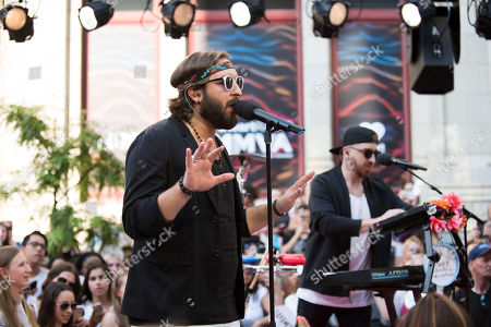 Coleman Hell performs at the 2016 iHeartRadio MuchMusic Video Awards, in Toronto, Canada