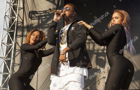Jeremy Felton aka Jeremih seen at the 2016 Pitchfork Music Festival on in Chicago