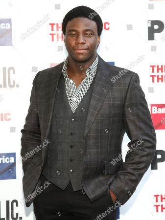 """Okieriete Onaodowan attends the 2016 Public Theater Gala Benefit """"United States of Shakespeare"""" at the Delacorte Theater in Central Park, in New York"""