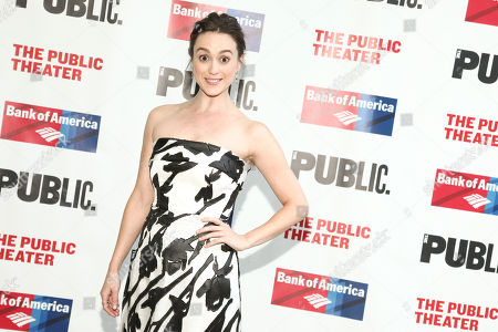 "Heather Lind attends the 2016 Public Theater Gala Benefit ""United States of Shakespeare"" at the Delacorte Theater in Central Park, in New York"