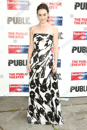Editorial picture of 2016 Public Theater Gala, New York, USA